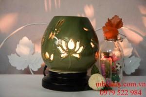 đèn xông tinh dầu gốm ngàn hoa