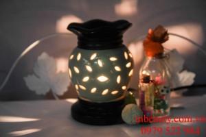 đèn xông tinh dầu gốm tỉa