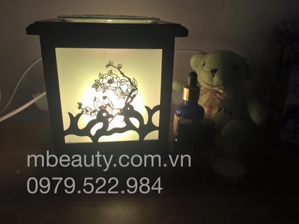 Đèn xông tinh dầu gỗ MS